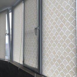 Римские и рулонные шторы - Рулонные шторы: полупрозрачные и блекаут, 0