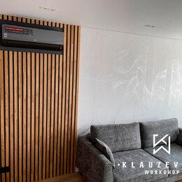 Стеновые панели - Декоративные деревянные рейки, 0