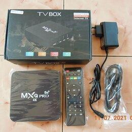 ТВ-приставки и медиаплееры - СмартТВ приставка Андроид 8/128 Гб, 0