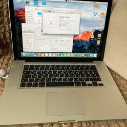 Ноутбуки - MacBook Pro 15, 2012г, A1286, 0
