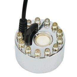 Очистители и увлажнители воздуха - Ультразвуковой генератор тумана с LED подсветкой и адаптером, 0