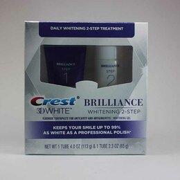 Зубная паста - Зубная паста CREST 3D WHITE BRILLIANCE WHITENING 2 STEP , 0