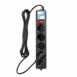 Источники бесперебойного питания, сетевые фильтры - Электрическая мануфактура SPG-B-10-BLACK PowerCube Фильтр-удлинитель 3.0м 10А/2,, 0