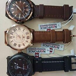 Наручные часы - Стильные кварцевые часы Naviforce, новые, 0