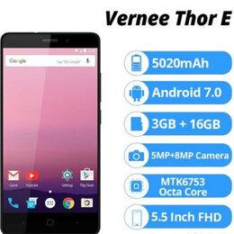 "Мобильные телефоны - Vernee Thor E 5"" 3/16Gb 8 ядер 5020 мАч, 0"