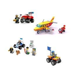 Конструкторы - Lego City / 7241 + 7279 + 7732 + 7736, 0