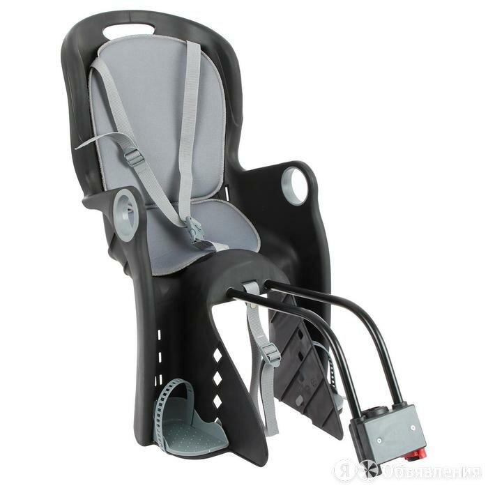 Велокресло заднее BQ-8 универсальный крепеж, цвет черный по цене 5440₽ - Велокресла, фото 0