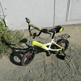 Велосипеды - Велосипед детский с маленькими колесами по бокам, 0