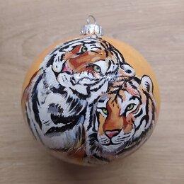 Новогодние фигурки и сувениры - Елочный шар, 0