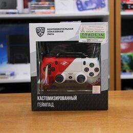 Аксессуары - Геймпад PlayStation 4 DualShock 4 кхл - Спартак, 0