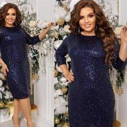Платья - Вечернее платье с пайетками р-ры 50-60, 0