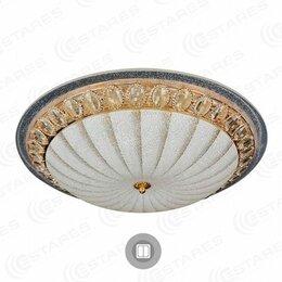 Люстры и потолочные светильники - Светильник Estares светодиодный CASABLANCA GOLD 72W (КОД:717795), 0