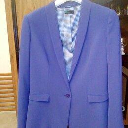 Пиджаки - Пиджак синий., 0