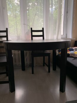 Мебель для кухни - Кухонный стол и стулья ИКЕА , 0