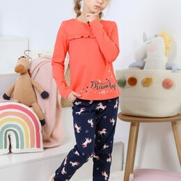Домашняя одежда - Костюм для девочки Пони-3, 0