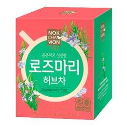 Продукты - Чай травяной розмариновый Nokchawon, 20 п, 0