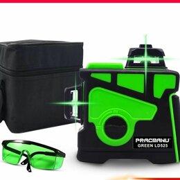 Измерительные инструменты и приборы - Новый лазерный уровень нивелир 3 Д т12 линий зелёный, 0