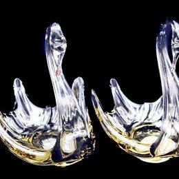 Декоративная посуда - ЛЕБЕДИ ваза вазочка конфетница 2шт., 0