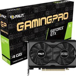 Видеокарты - Видеокарта Palit GeForce GTX1650 GP PCI-E 4096Mb (NE6165001BG1-1175A), 0