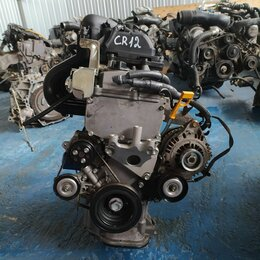 Двигатель и топливная система  - Двигатель nissan CR12DE, 0
