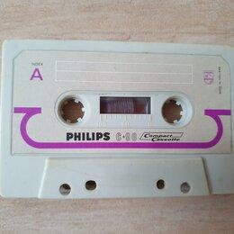 Музыкальные CD и аудиокассеты - Аудиокассета Philips C-90 1967 год, 0