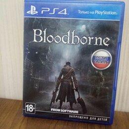 Игры для приставок и ПК - Диск PS4 Bloodborne б/у, 0