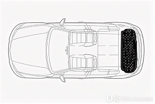 Коврик Norplast в багажник Peugeot 301 (2013-) (арт.NPA00-VT640-280a) по цене 2450₽ - Аксессуары для салона, фото 0