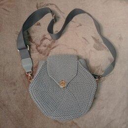 Сумки - Вязанная женская сумочка, 0