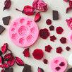 Молд силиконовый «Круговорот роз», 9,5 см, цвет МИКС по цене 630₽ - Продукты, фото 4