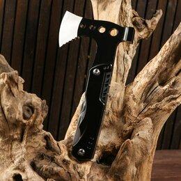 Ножи и мультитулы - Мультитул 10в1 с молотком и топориком, 0