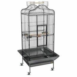 Клетки и домики - Клетка для средних и больших попугаев, 0