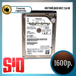Жёсткие диски и SSD - Жесткий диск HGST 750 GB HTS547575A9E384, 0
