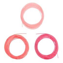 Расходные материалы для 3D печати - Пластик PCL для 3D ручки, длина: 5 м, цвета красного МИКС, 0