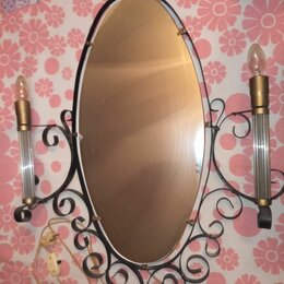 Зеркала - Зеркало со светильниками ссср, 0