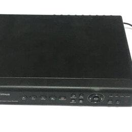 DVD и Blu-ray плееры - Видеорегистратор для камер optimus 1008, 0