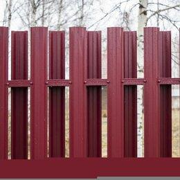 Заборы, ворота и элементы - Металлический штакетник , 0