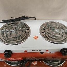Плиты и варочные панели - Электро плита Sakura ПЭ-03 новая, 0