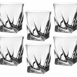 "Бокалы и стаканы - Набор стаканов для виски из 6 шт.""Квадро"" 340 мл. Н=10 см., 0"