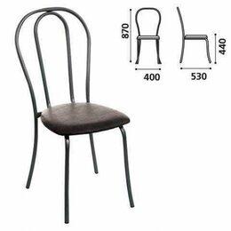 """Кресла и стулья - Стул для столовых, кафе, дома """"Вереск"""", черный каркас, кожзам черны..., 0"""