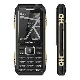 Проводные телефоны - Телефон teXet TM-D424 (черный), 0