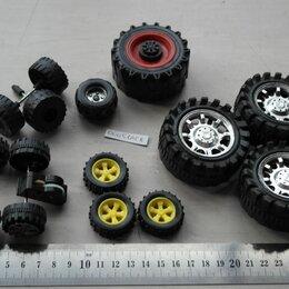 Машинки и техника - Колёса для игрушечных машинок. Лот 00051АСВ, 0