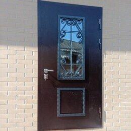 Входные двери - Дверь входная ПРАГА металлическая для дома изготовление, 0