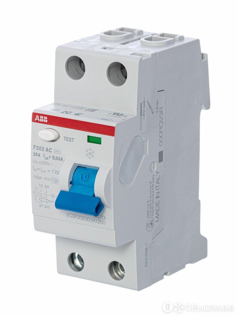 Устройства защитного отключения (УЗО) ABB / АББ Устройство защитного отключен... по цене 3864₽ - Товары для электромонтажа, фото 0