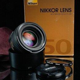 Объективы - Nikon AF-S 50 mm 1.4 // 4902 📷📷📷, 0
