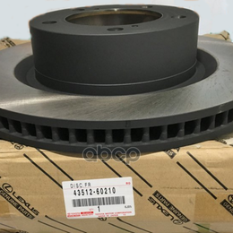 Тормозная система  - Диск Тормозной Передний Toyota Lc200, Lx570 TOYOTA арт. 4351260210, 0