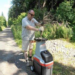 Садовые измельчители - Измельчитель кустарника и веток электрический Al-Ko 2.8 квт напрокат, 0