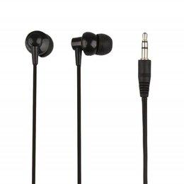 Аксессуары для наушников и гарнитур - Наушники «LP» для MP3 плееров разъем 3,5 мм. (вакуумные) черные, 0