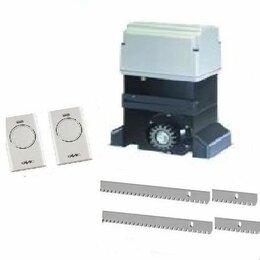Шлагбаумы и автоматика для ворот - Минимальный комплект автоматики для сдвижных ворот до 1800 кг FAAC 844 ER KIT, 0