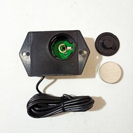 Аксессуары и дополнительное оборудование  - Бесконтактный тахометр счётчик моточасов цифровой сменная батарея S1 S2, 0