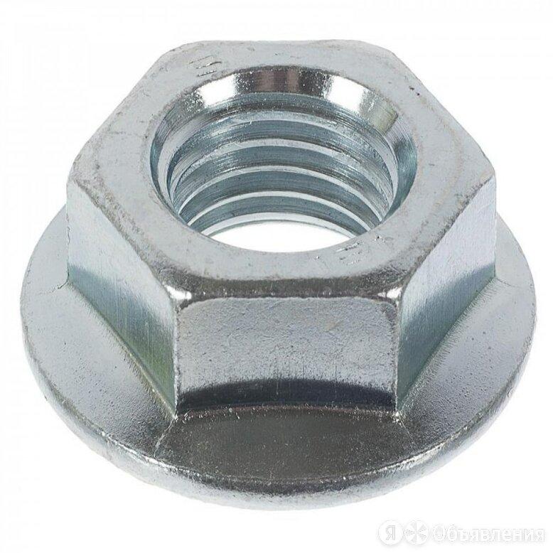 Оцинкованная гайка Метиз-Эксперт М12 DIN6923 (100 шт.) по цене 1334₽ - Шайбы и гайки, фото 0